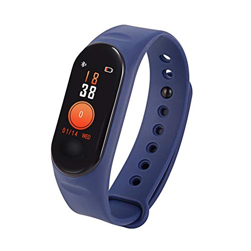 MIKLL Fitness Tracker,Orologio Fitness,Donna Uomo Bambini Smartwatch,Braccialetto Pressione Sanguigna Cardiofrequenzimetro da Polso Impermeabile IP67,Contapassi Pedometro per Android iOS