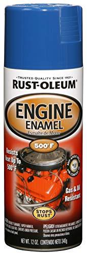 Rust-Oleum 248945 Automotive Engine Enamel Spray Paint, 12 Oz, Ford Blue
