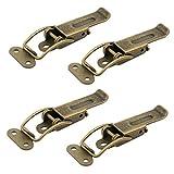 4 x Spannverschluss Catch #22 brüniert Kniehebelspanner Verriegelung Hebelverschluss von SO-TECH®