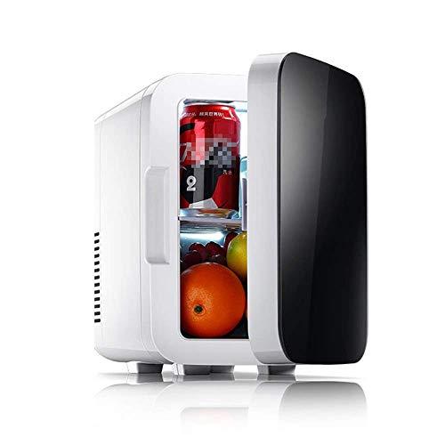 ZUQIEE Refrigerador de coche, clásico de 6 litros compacto mini refrigerador para coches, viajes por carretera, hogares, oficinas y dormitorios, mini nevera (color tamaño: 20 x 27 x 30 cm)