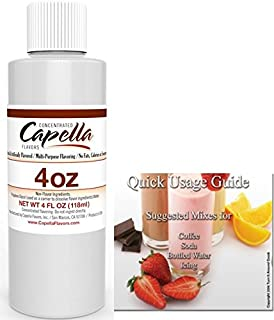 Capella Flavor Drops Concentrated & Quick Start Guide Bundle (Cake Batter, 4oz)