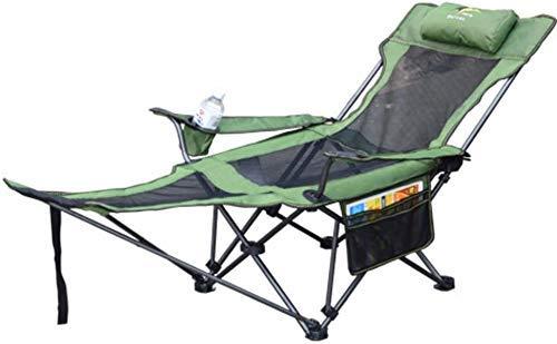 Chutd voeten voor meubels, campingstoelen, klapstoelen, tuinligstoel, met verstelbare voetensteun, compact, voor wandelen, strand, vissen