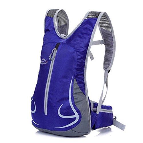 SINCERE@ Équitation sac à dos Casual Male sac sac à dos de sport cycliste féminine sac à bandoulière sac à dos en plein air ultra-léger (bleu royal)