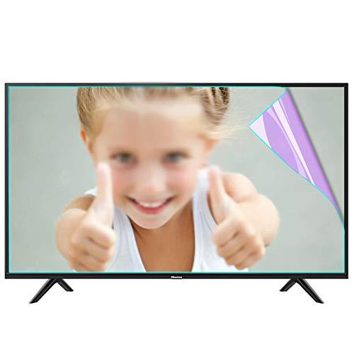 ZWYSL Protector de Pantalla Anti luz Azul para TV/Monitor de Escritorio de 27-75 Pulgadas, filtra la luz Azul y Alivia la Fatiga Ocular de la computadora para ayudarlo a Dormir Mejor