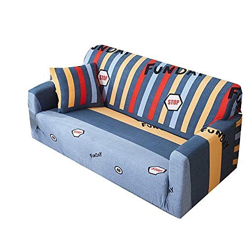 JXJ Fundas de sofá Fundas de sofá Fundas de Silla reclinable para sillones Fundas de sofá elásticas Funda de sofá elástica Funda de sofá elástica Funda de sofá mágica 145-185, Color