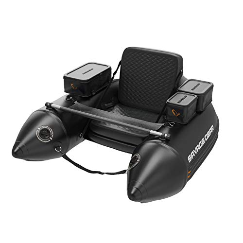 Savage Gear High Rider V2 Belly Boat 150 – Belly Boat per pesca a spinning e a mosca