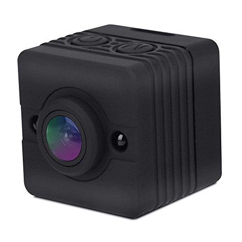 Mini waterdichte actiecamera, draagbare 1080P HD camcorder met lens 155 graden groothoeklens, ondersteuning TF-kaart tot 32 G voor home security, outdoor sport-opname, auto-gegevensregistratie, etc.
