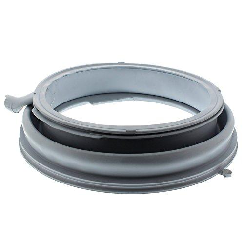 Bosch 00680768 Guarnizione in Gomma per L Oblo della Lavatrice, Grigio Argento