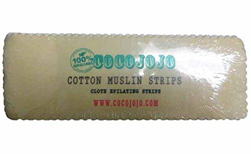 100% Egyptian Cotton Fabric Strips for Sugaring Waxing Reusable Strips Body Facial Ct 100