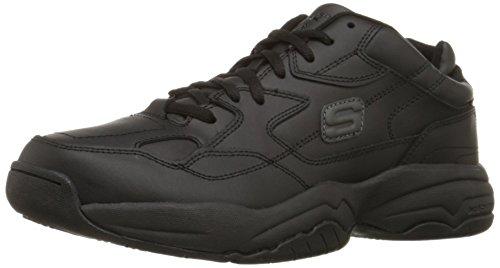 Skechers for Work Men's Keystone Sneaker,Black,10 M US