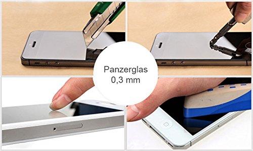 BRALEXX 2X_1311_#RT2904 9H Echt klare Panzerglas Displayschutzfolie für Huawei Ascend Mate S (2-er Pack) - 2
