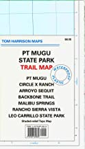 PT Mugu State Park Trail Map: PT Mugu, Circle X Ranch, Arroyo Sequit, Backbone Trail, Malibu Springs, Rancho Sierra Vista, Leo Carrillo State Park: (Tom Harrison Maps)
