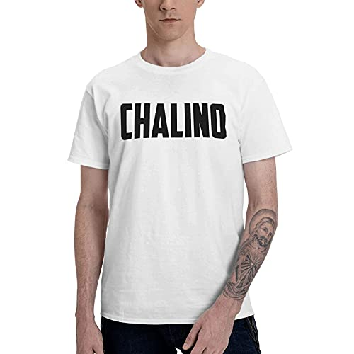 COOTHING Chalino Sanchez Mexican Singer Men s Breathable Casual Printed Basic Round Neck White Tee Apparel