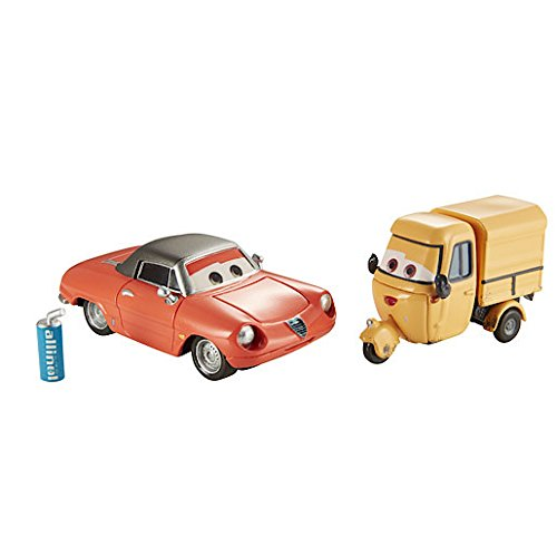 Disney Pixar Cars 2 - Race Team Shawn Krash and Sal Machiani
