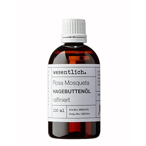 Hagebuttenöl 100ml - 100% reines Öl (Rosa Mosqueta) von wesentlich.