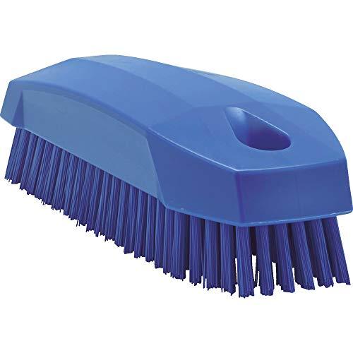 """Vikan 64408 Nail Brush, Polyester, 1-31/32"""" x 4-1/2"""", Purple"""