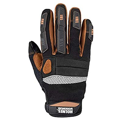 Holmes Workwear Winter Work Gloves 3M Thinsulate Insulation, Extra-Large, 2 Pairs