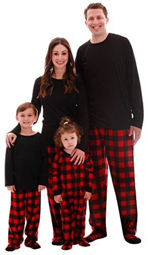 #followme Family Pajamas Microfleece Mens Pajama Set 6752-10195-M