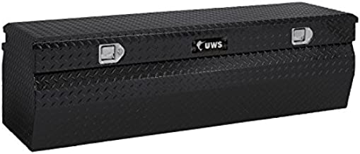 UWS TBC-42-W-BLK 42-Inch. Standard Chest Wedged with Beveled Insulated Lid - Black