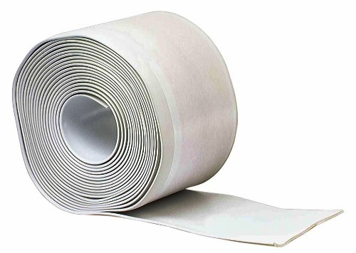 M-D Building Products 93203 4-Inch by 20-Feet Adhesive Back Vinyl Wall Base, White