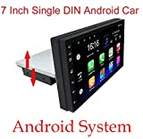 Binize 7 Inch Android System HD Single Din Touch Screen Car Stereo Radio Multimedia in...