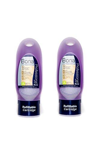 Bona Pro Series Hardwood Floor Cleaner - 34 oz Refill Cartridge [Pack of 2]