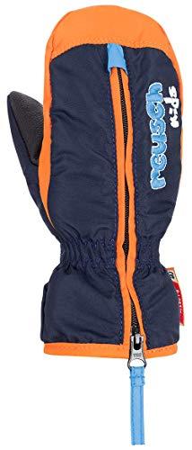 Reusch Reusch Baby Ben Mitten Handschuh, Dress Blue/orange Popsicle, 0