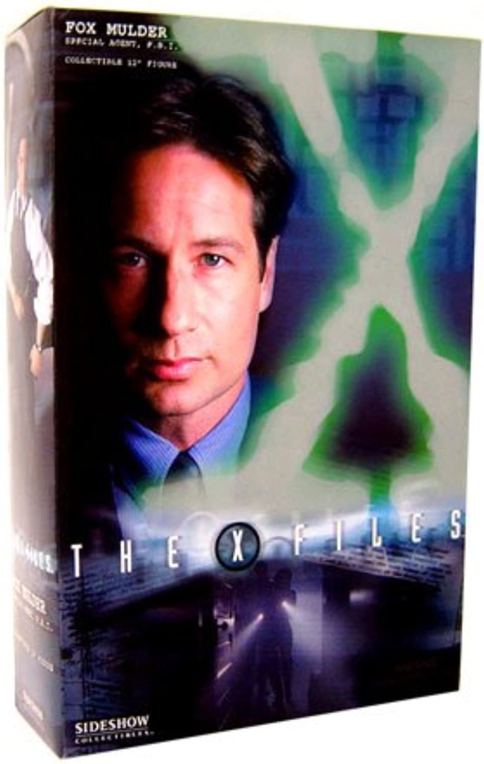 Sideshow Collectibles XFiles Limited Edition 12 Inch Action Figure Home Fox Mulder