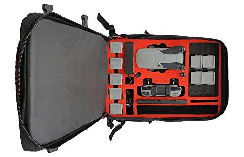 MC-CASES® Rucksack für DJI Mavic Air 2 - Standard oder DJI Smart Controller - Extrem komfortabel - Viel Platz