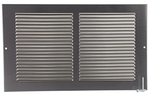 14' X 8' Pewter Cold Air Return Vent Cover / Grille