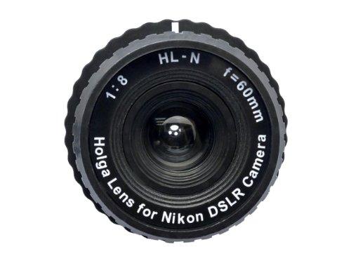 Holga Objektiv schwarz für Nikon D3400D500D5D7200d810a D5500D750D810D4S D3300
