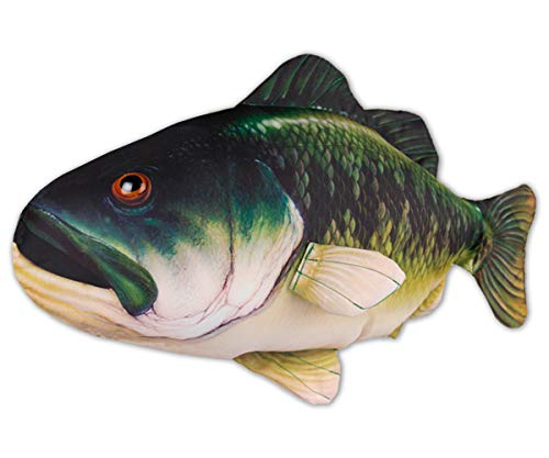 iConcern Game Fish Pillow, 100% Polyester 25