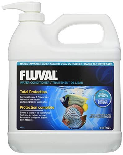 Fluval AquaPlus Water Conditioner, Aquarium Water Treatment, 0.5 Gal., A8345