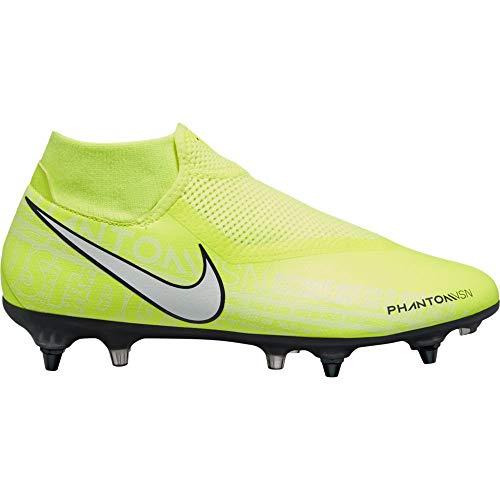 Nike Unisex Phntom Vsn Academy Df Sgpro Ac Fußballschuhe, Grün (Volt/White-Volt 717), 42 EU
