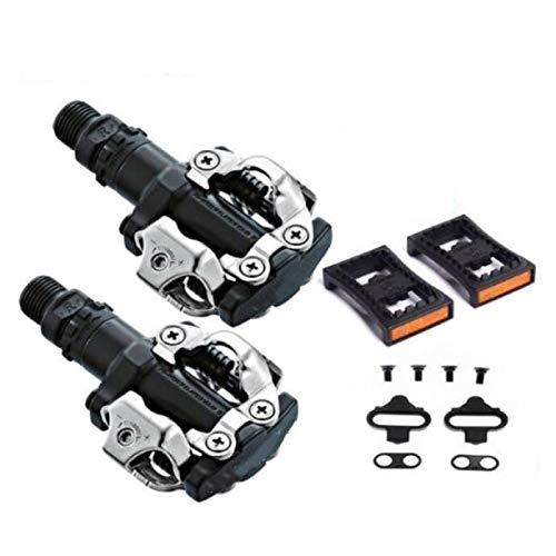 AQNPYR PD M520 SPD pédale VTT VTT pédales automatiques à Verrouillage Automatique avec Cales PD22 pédales de Cyclisme