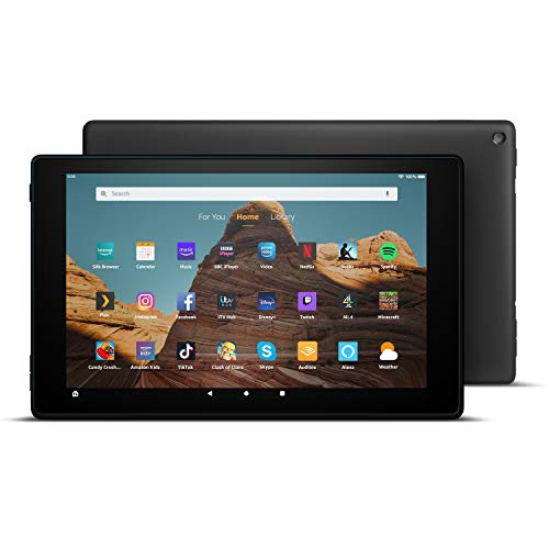 Fire HD 10 Tablet | 10.1' 1080p Full HD display, 32 GB, Black - with Ads