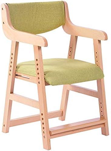 Kinder-Schreibtischstühle Sessel Kinderstudienstuhl Sitz, korrigierende Sitzhaltung Anti-Myopie Buckel h nverstellbar, Holz, für Zuhause Computertisch Esstisch