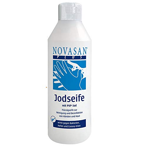 Novasan® Antibakterielle Flüssig-Seife gegen Viren Handdesinfektion - 1 Liter