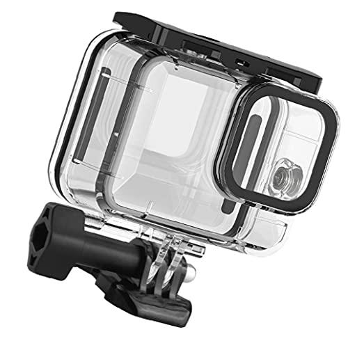 Funda impermeable Compatible con GoPro Hero 9 Carcasa protectora de protección contra el buceo submarino Acción Accesorios Accesorios de cámara Foto digital