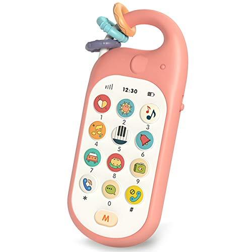 Gxi Baby Handy ab 1 Jahr Lernhandy Lernspielzeug mit Liedern Wiegenlied und Zahlen für Kinder ab 12 Monaten