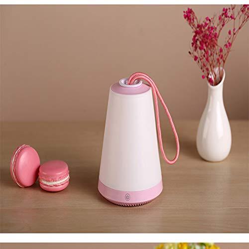ZZW Multifunctionele tentlampen, campinglampen, campinglampen, lampen, roze