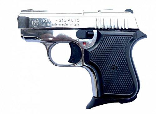 Pistola Scacciacani Bruni a salve 315 auto Nikel calibro 8 mm Top Firing