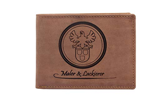 FFelsenfest Geldbörse mit Maler Zunft-Wappen