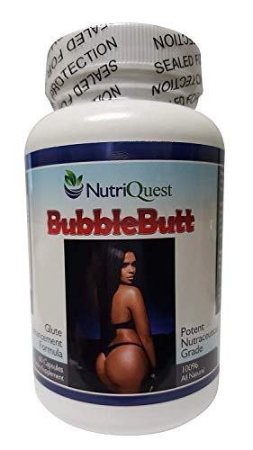 Bubble Butt Enhancement | Enlargement Capsules | Pills (1 Bottle) in Stock - Ships Today