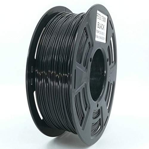 Stronghero3D desktop fdm 3d printer filament PETG black 1.75mm 1kg (2.2 lbs) dimension accuracy of + / -0.05mm