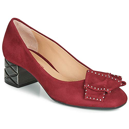 Perlato 11320-cam-rouge Pumps Damen Rot - 37 - Pumps Shoes
