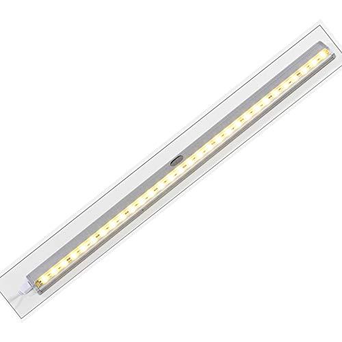 #1118 LED Leiste Vorzeltbeleuchtung mit 30 warm-weißen LED's ca. 51 cm lang • Vorzelt-Lampe Schranklicht Vorzeltleuchte