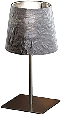 "Morosini Silver Dress CO Table Lamp, 13.8"" H x 7.1"""