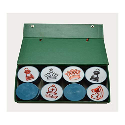 AVOA Ajedrez magnético de ajedrez, tablero de ajedrez de tela suave para enseñar, gran juego de ajedrez magnético, práctico y portátil tablero de ajedrez de tela (color: caja verde)