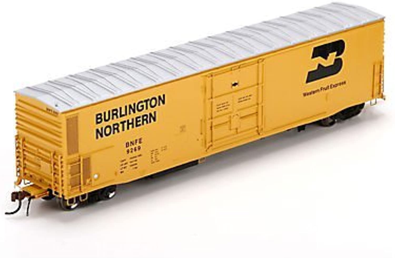 HO 57' Mechanical Reefer, BNFE  9269 by Athearn